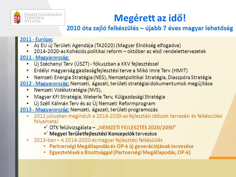 Megérett az idő! 2010 óta zajló felkészülés – újabb 7 éves magyar lehetőség