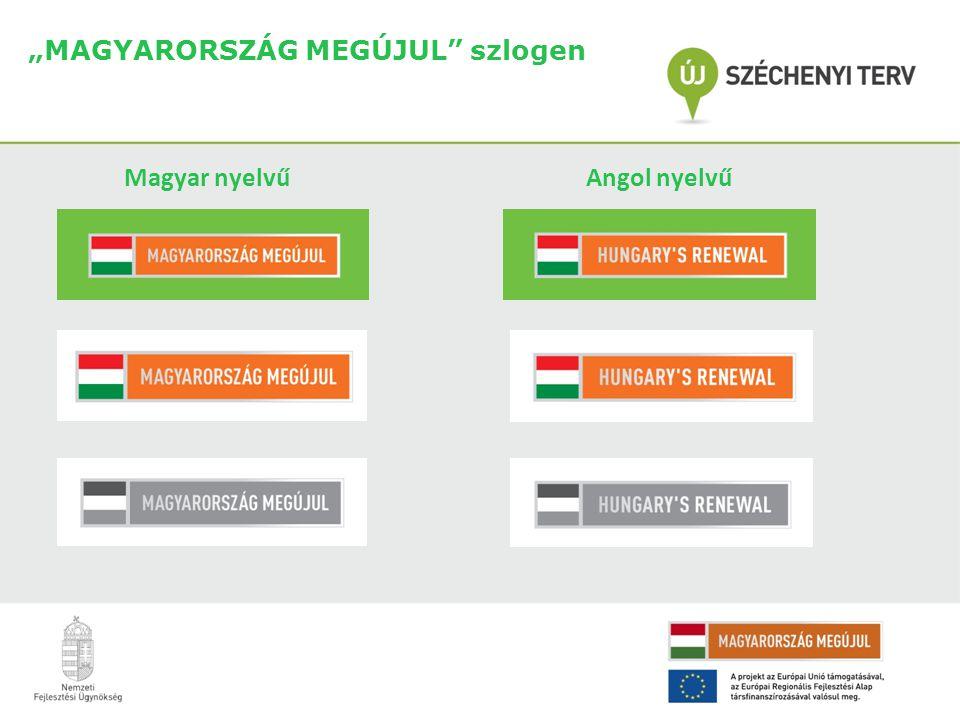 """""""MAGYARORSZÁG MEGÚJUL szlogen"""
