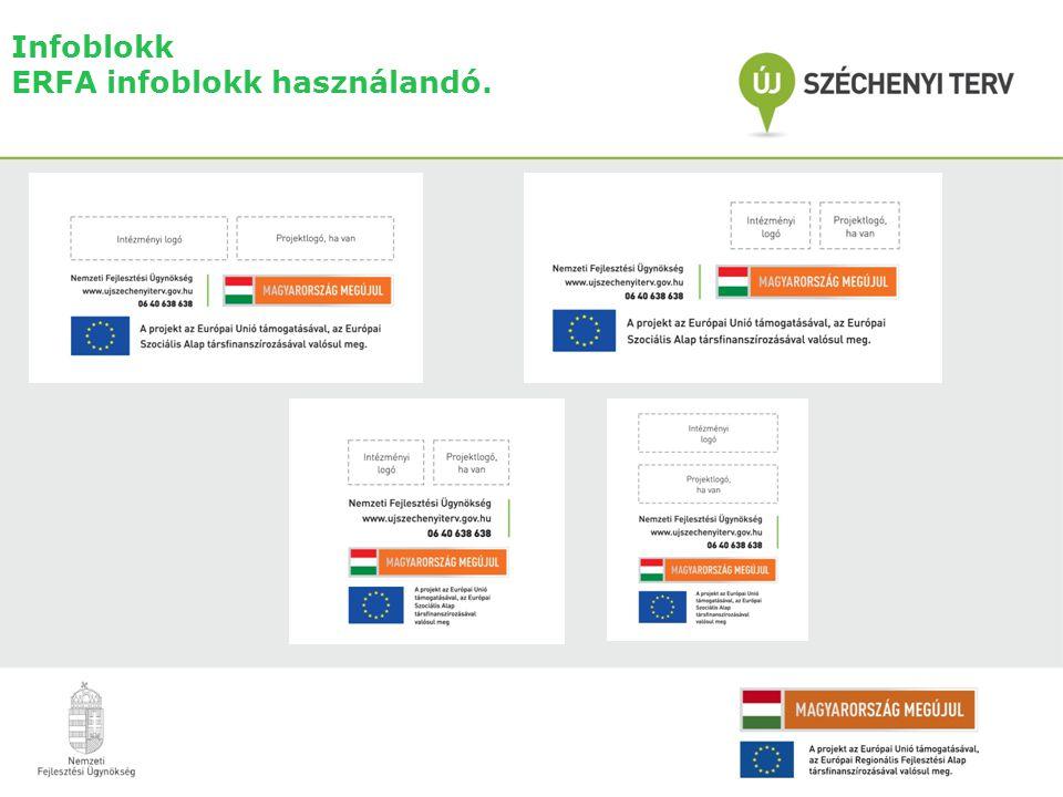 Infoblokk ERFA infoblokk használandó.