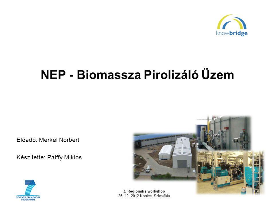 NEP - Biomassza Pirolizáló Üzem