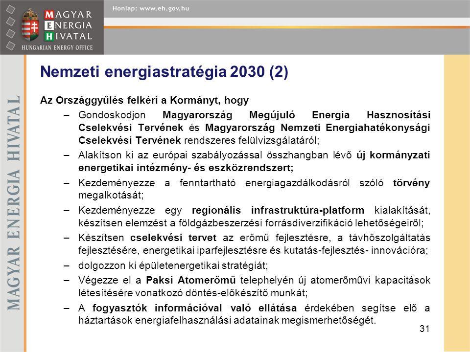 Nemzeti energiastratégia 2030 (2)