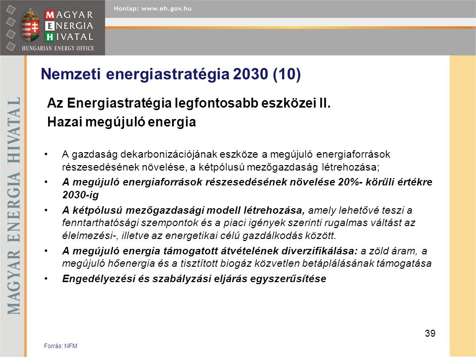 Nemzeti energiastratégia 2030 (10)