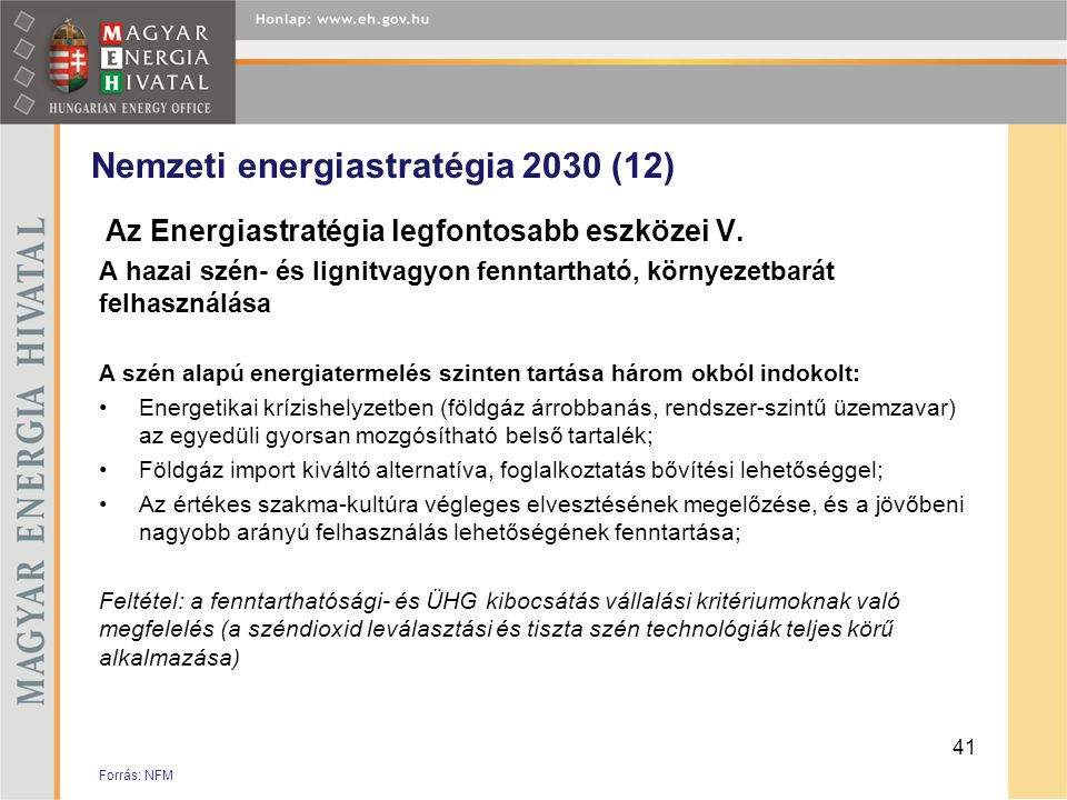 Nemzeti energiastratégia 2030 (12)