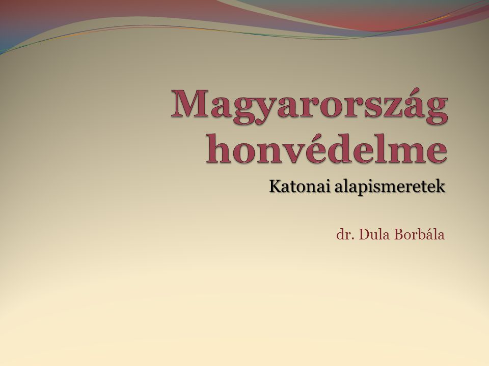 Magyarország honvédelme