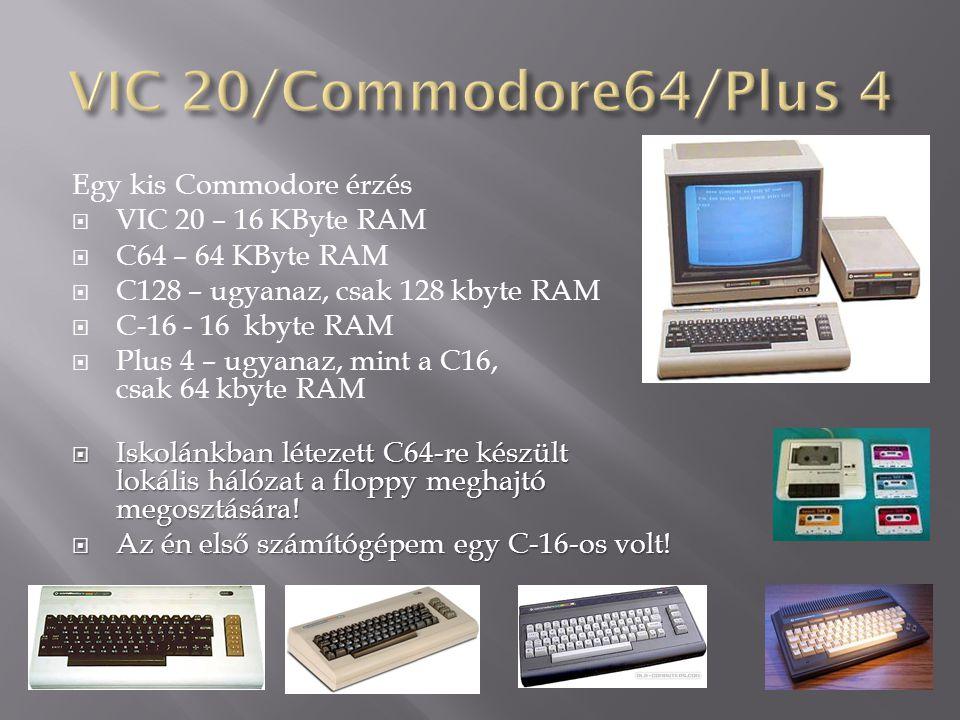 VIC 20/Commodore64/Plus 4 Egy kis Commodore érzés