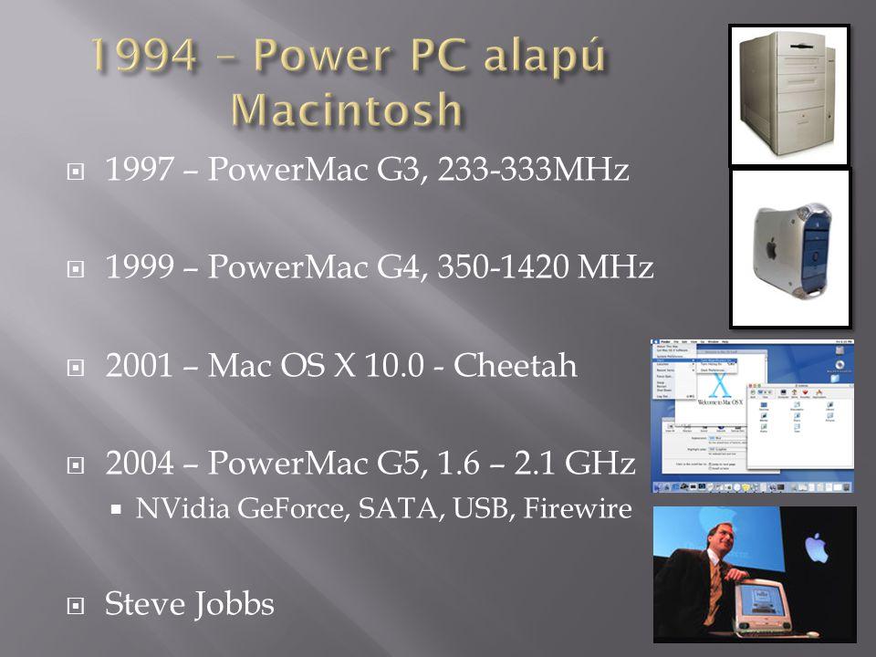 1994 – Power PC alapú Macintosh
