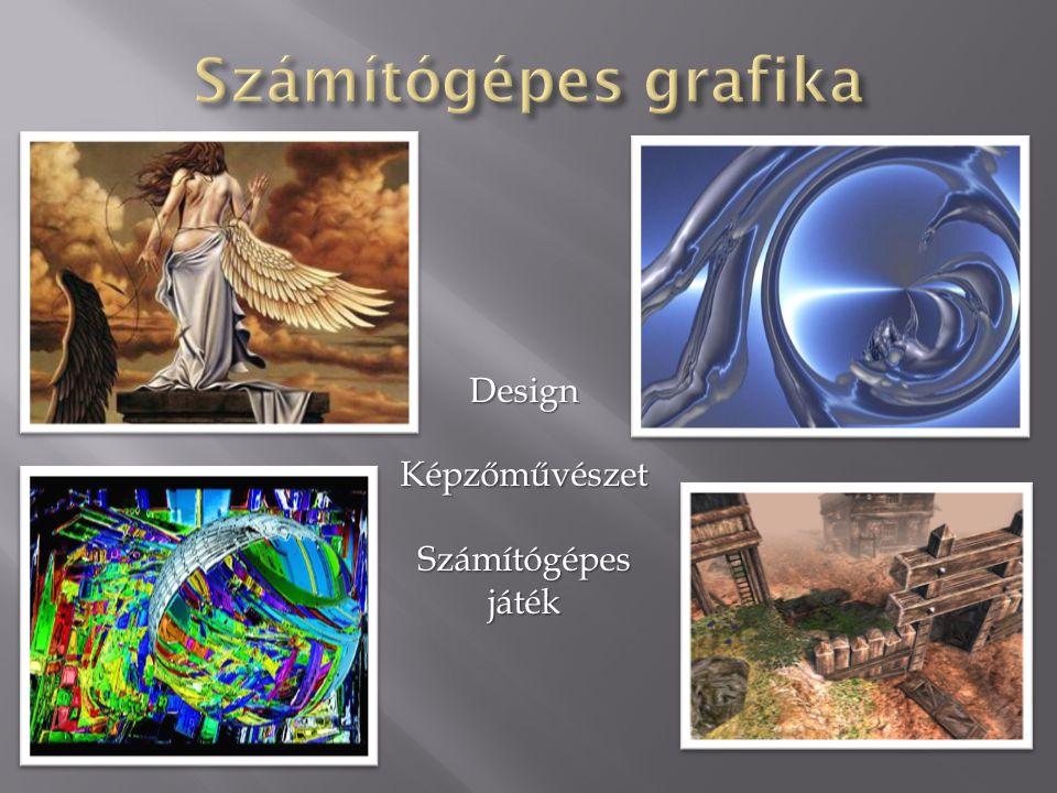 Számítógépes grafika Design Képzőművészet Számítógépes játék