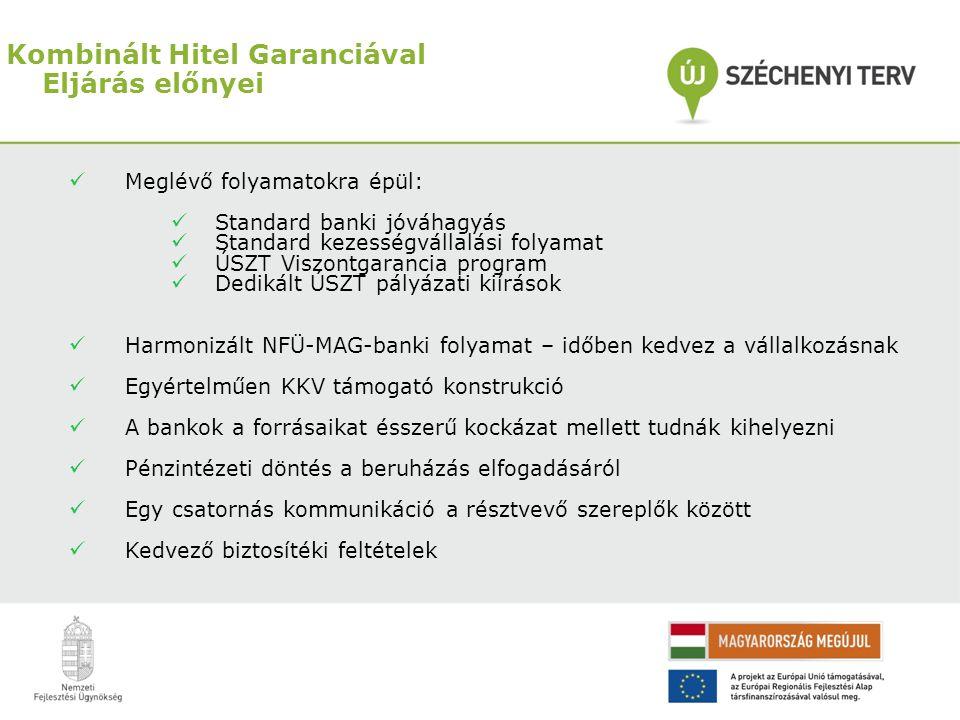 Kombinált Hitel Garanciával Eljárás előnyei