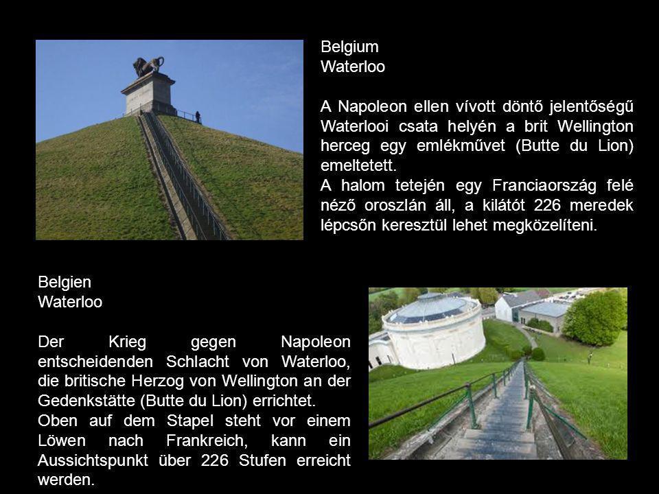Belgium Waterloo.