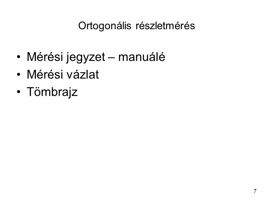 Ortogonális részletmérés