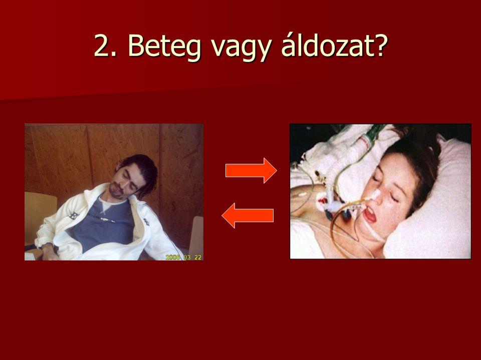 2. Beteg vagy áldozat