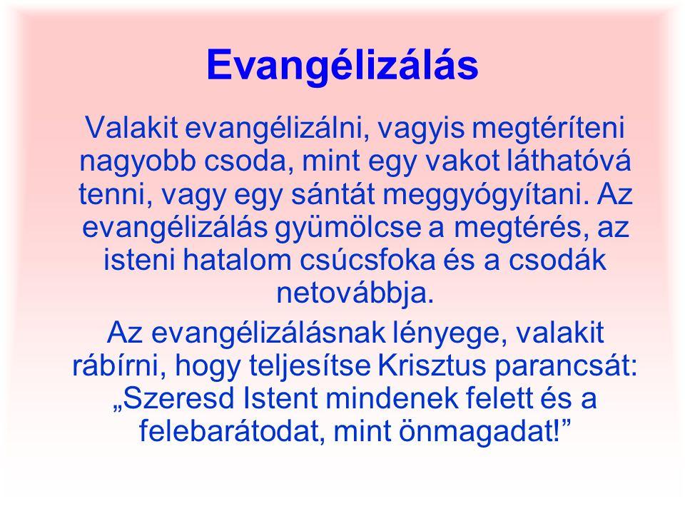 Evangélizálás