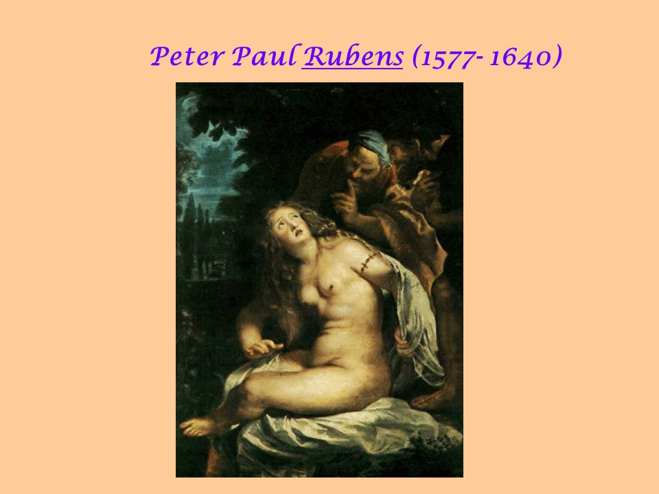 Peter Paul Rubens (1577- 1640)‏