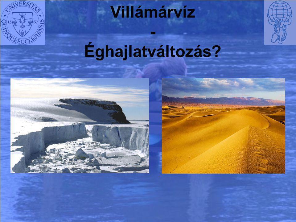 Villámárvíz - Éghajlatváltozás