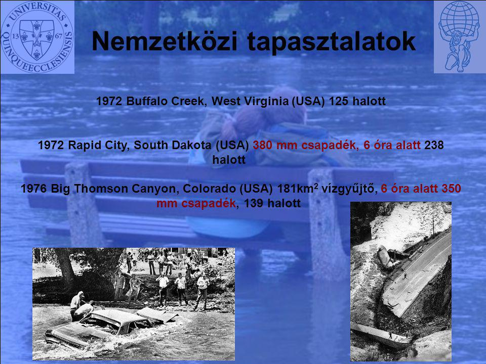 1972 Buffalo Creek, West Virginia (USA) 125 halott