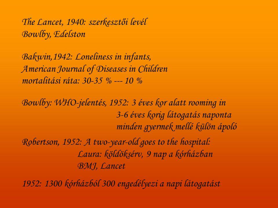 The Lancet, 1940: szerkesztői levél