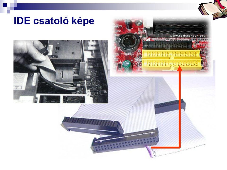 IDE csatoló képe