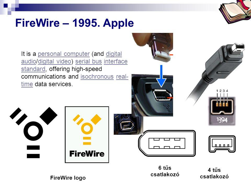 FireWire – 1995. Apple
