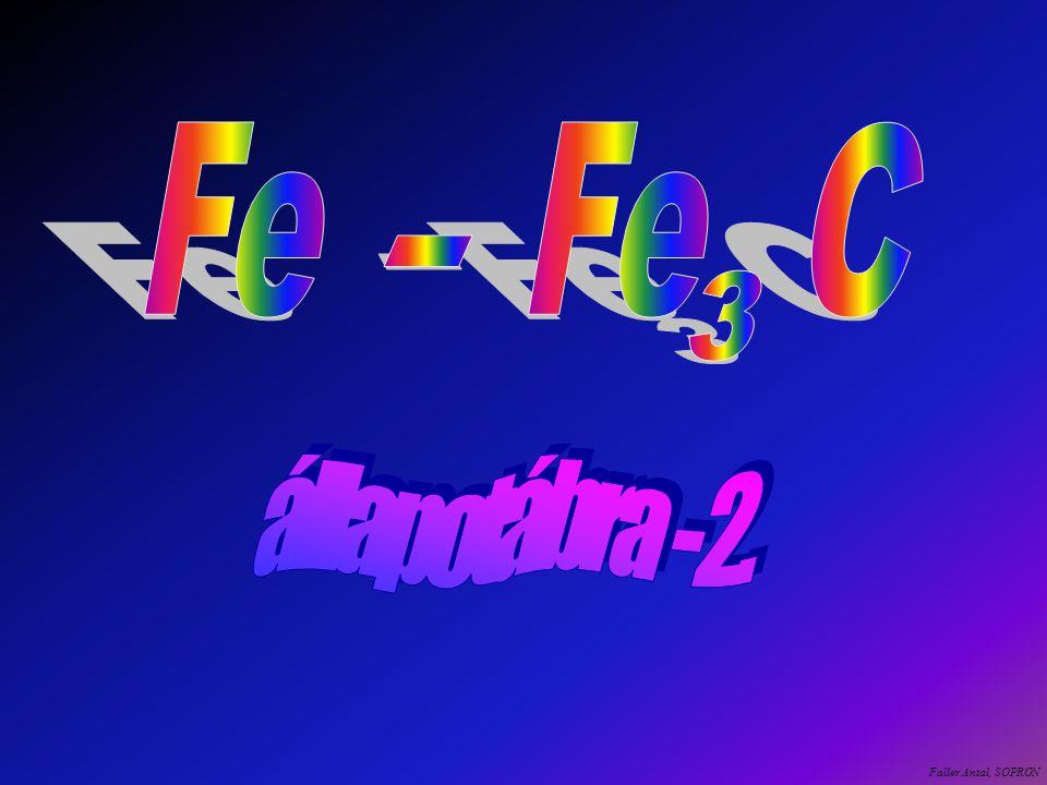 Fe Fe C - 3 állapotábra - 2. Faller Antal, SOPRON