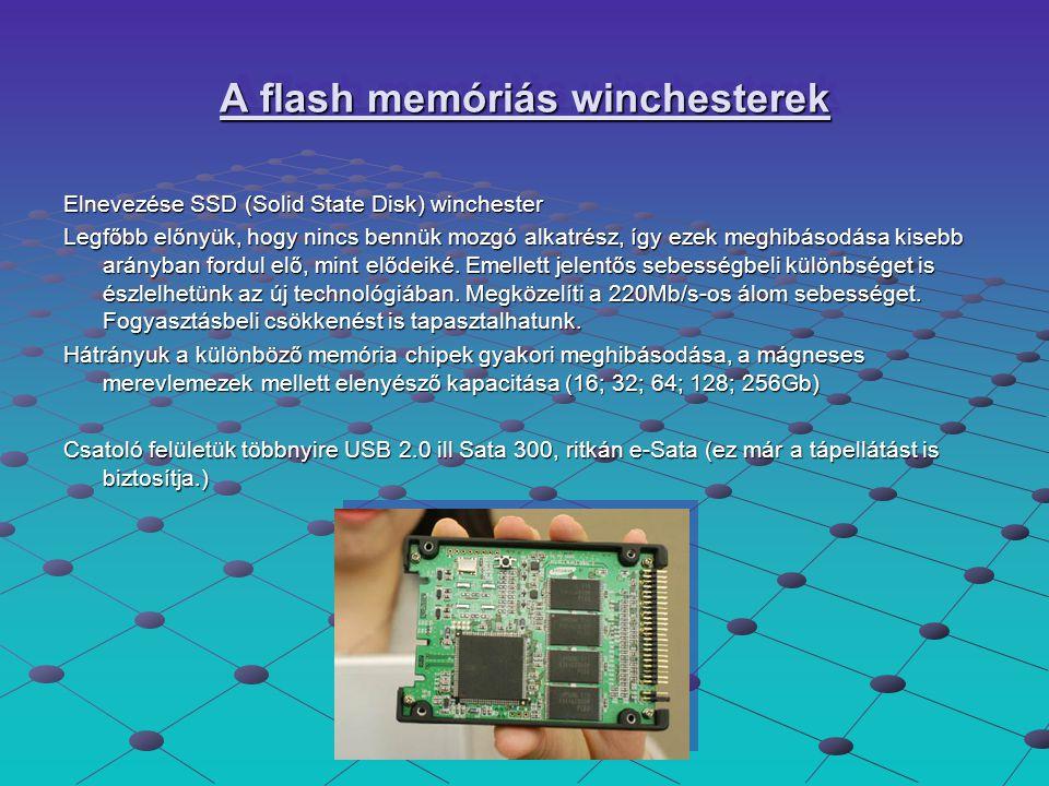 A flash memóriás winchesterek