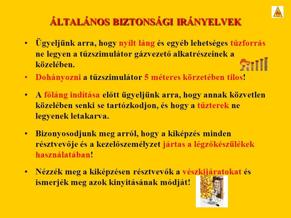 ÁLTALÁNOS BIZTONSÁGI IRÁNYELVEK