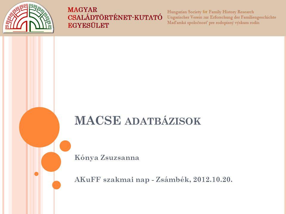 Kónya Zsuzsanna AKuFF szakmai nap - Zsámbék, 2012.10.20.