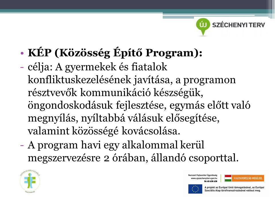 KÉP (Közösség Építő Program):