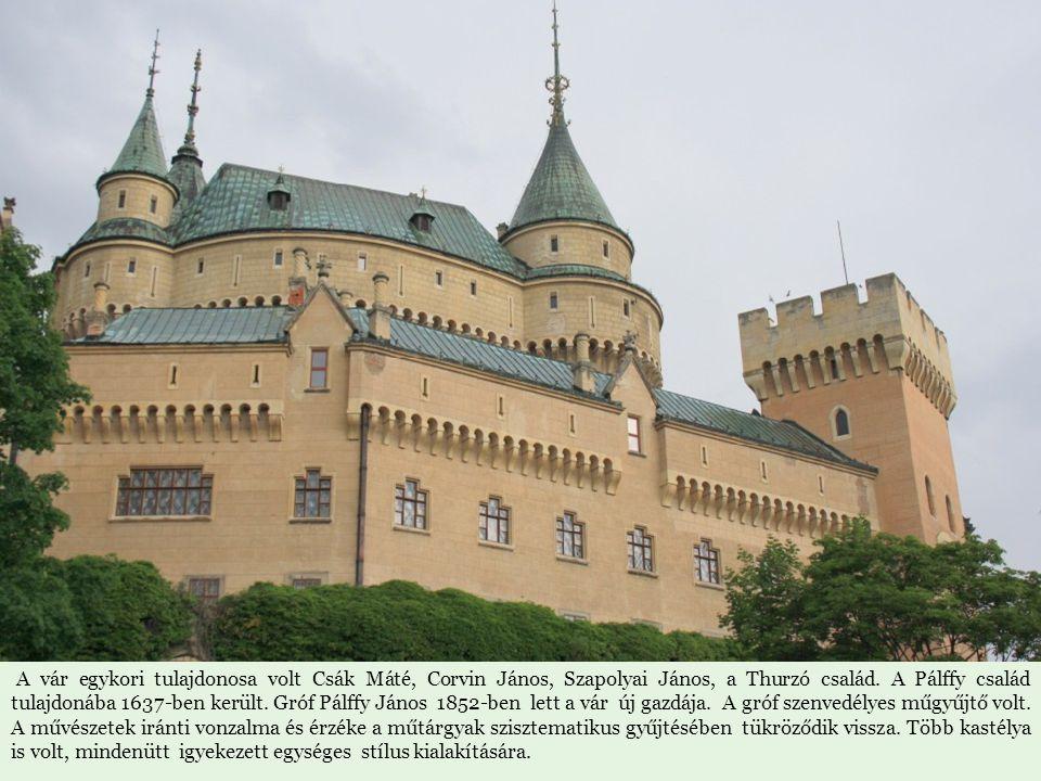 A vár egykori tulajdonosa volt Csák Máté, Corvin János, Szapolyai János, a Thurzó család.