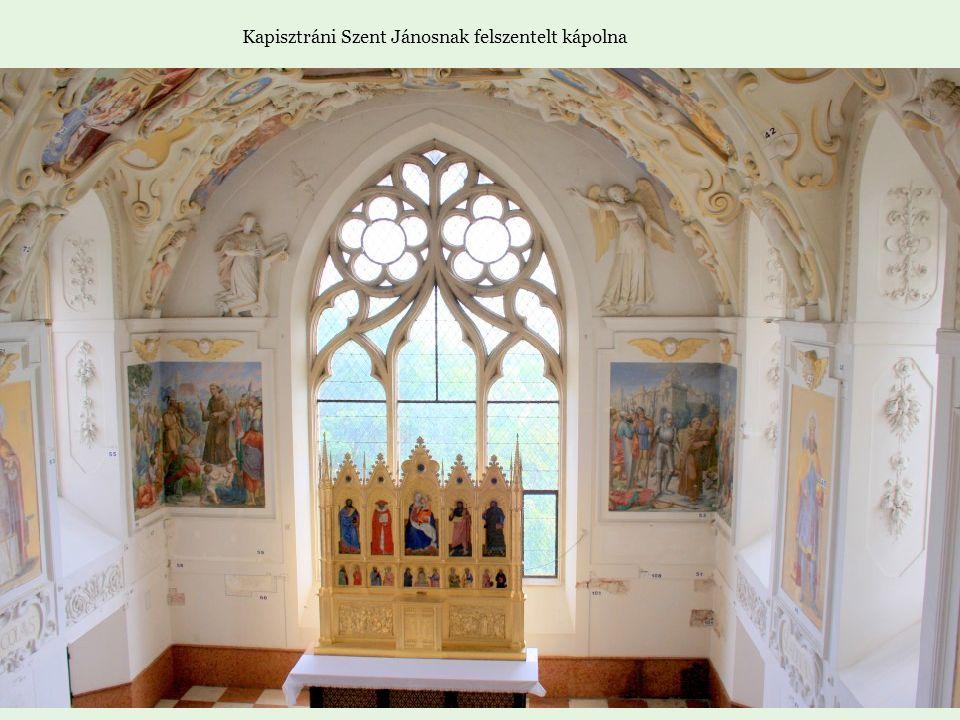 Kapisztráni Szent Jánosnak felszentelt kápolna