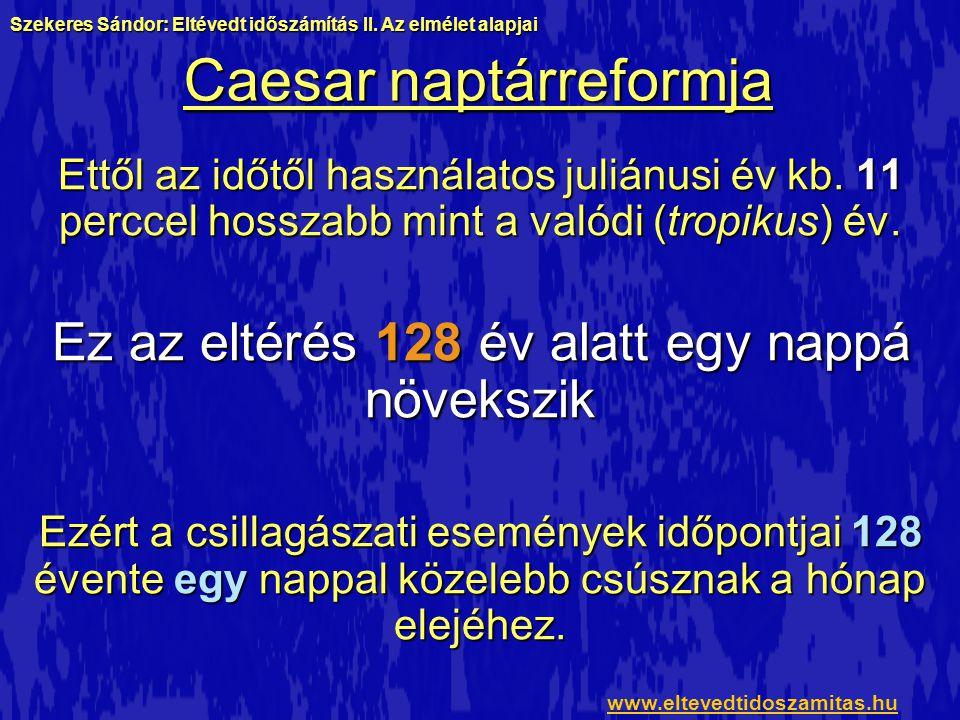 Caesar naptárreformja