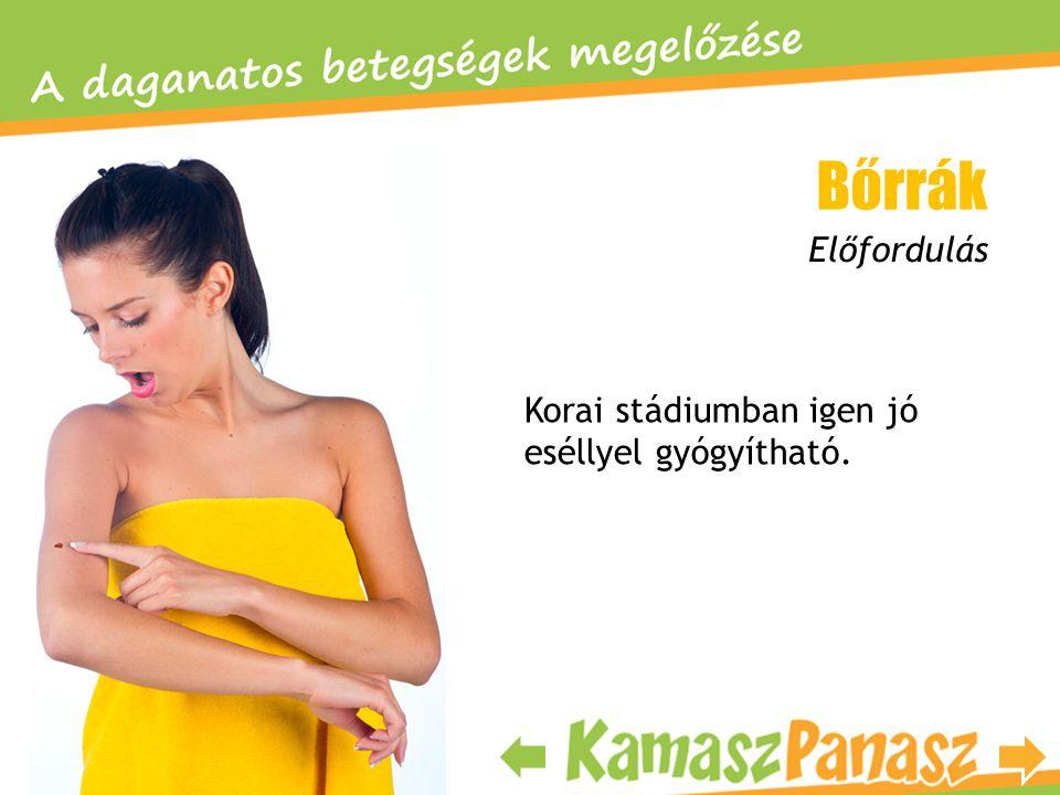 Bőrrák Előfordulás Korai stádiumban igen jó eséllyel gyógyítható.