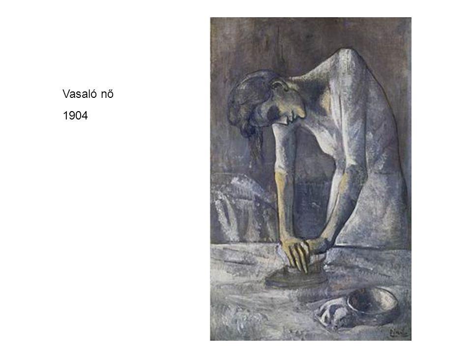 Vasaló nő 1904