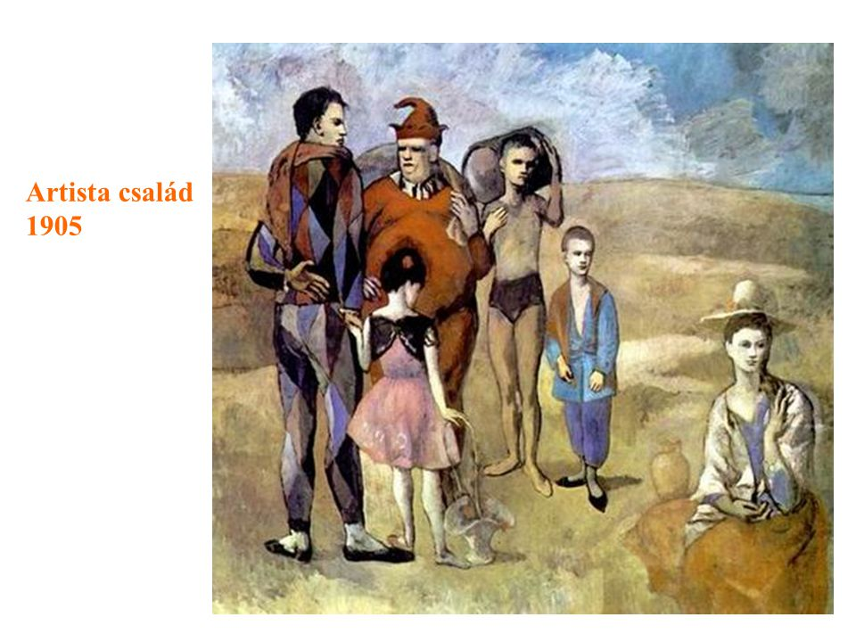 Artista család 1905
