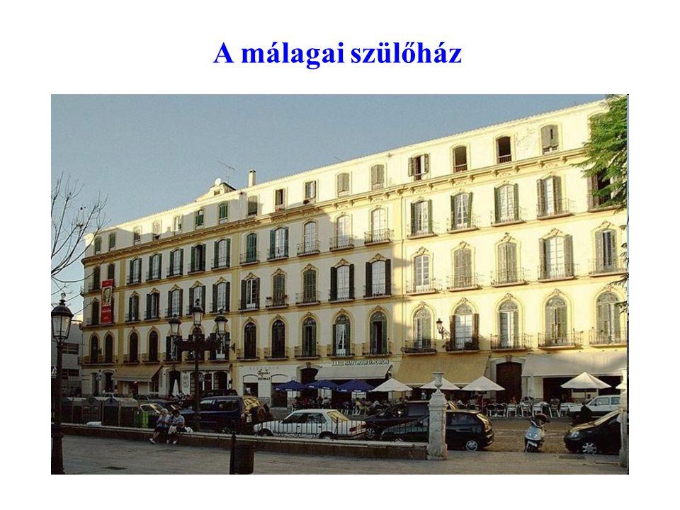 A málagai szülőház
