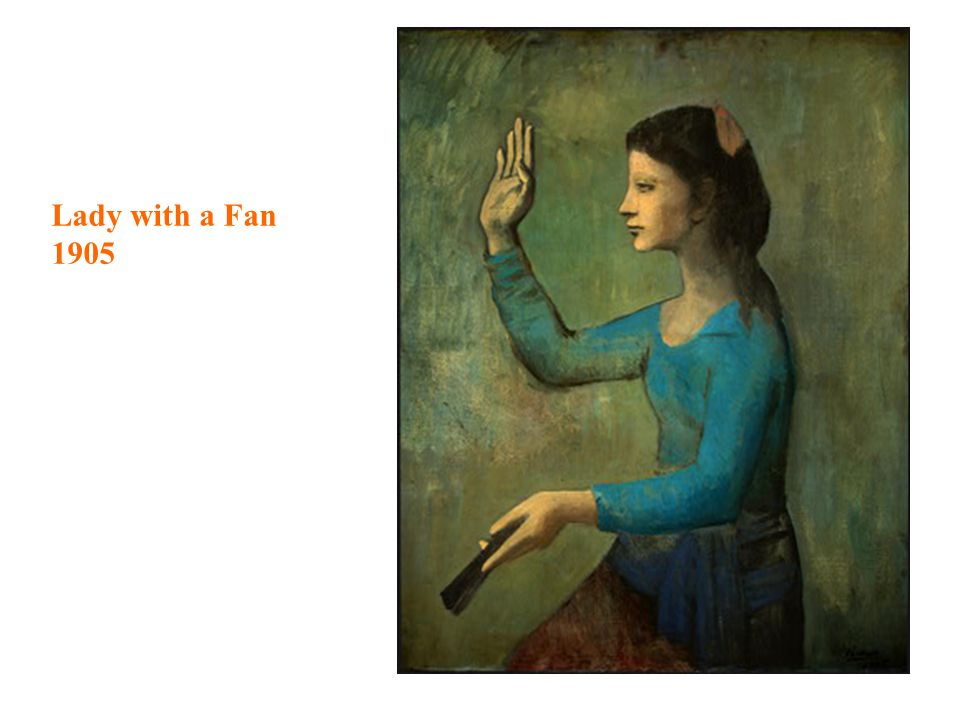 Lady with a Fan 1905