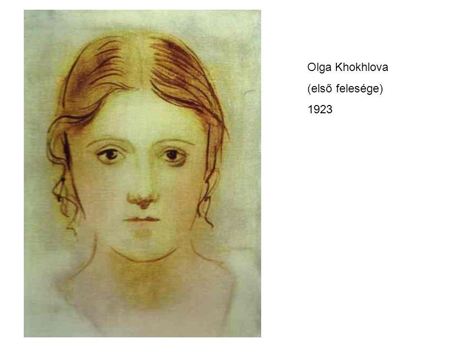 Olga Khokhlova (első felesége) 1923