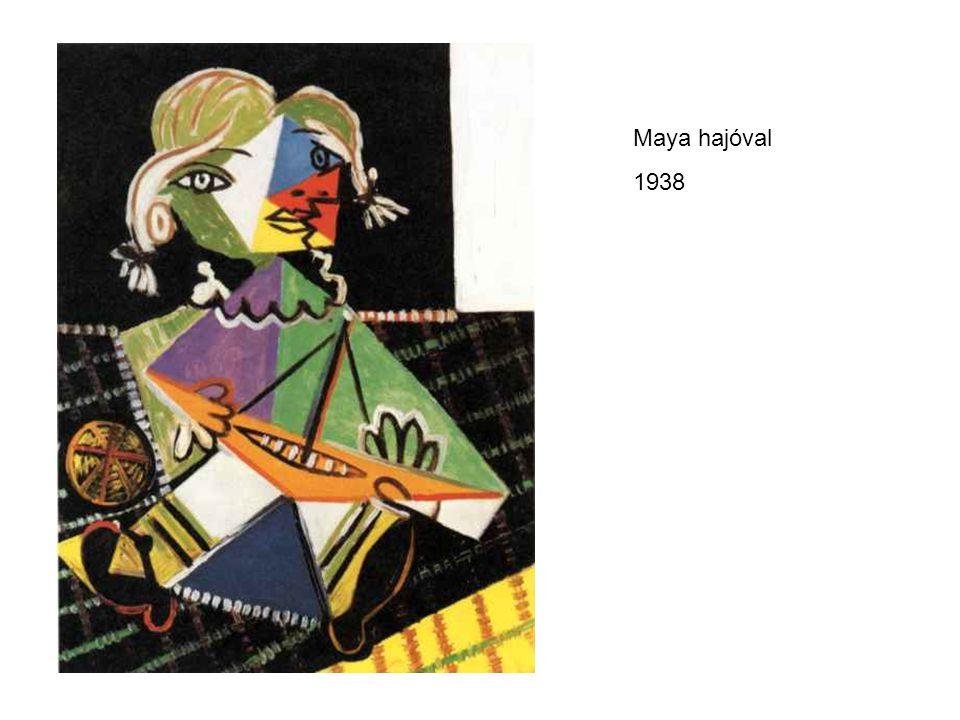 Maya hajóval 1938.