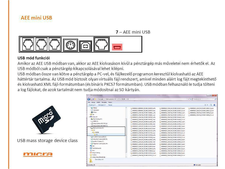 AEE mini USB 7 – AEE mini USB USB mass storage device class