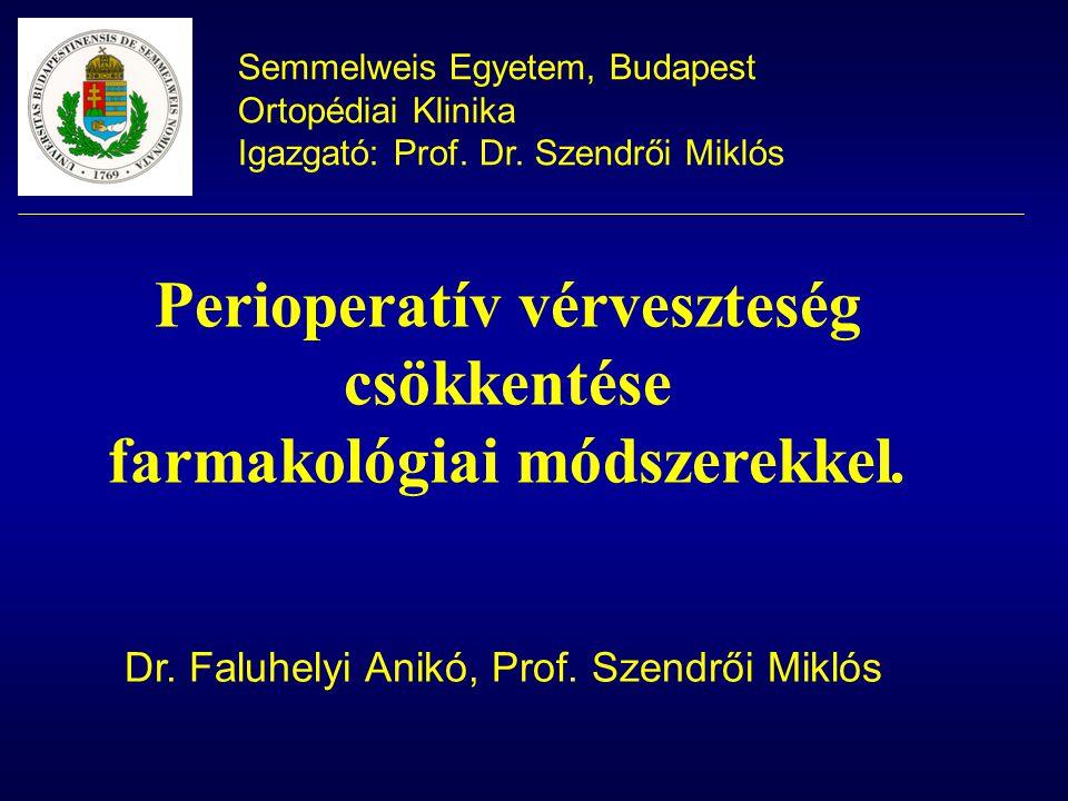 Perioperatív vérveszteség