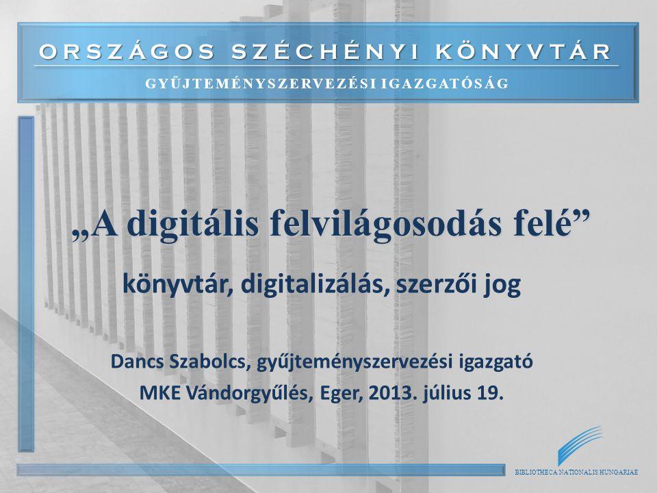 """""""A digitális felvilágosodás felé"""