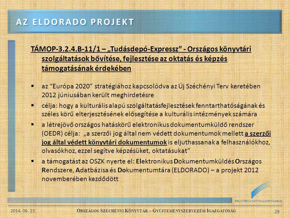 Az eldorado projekt