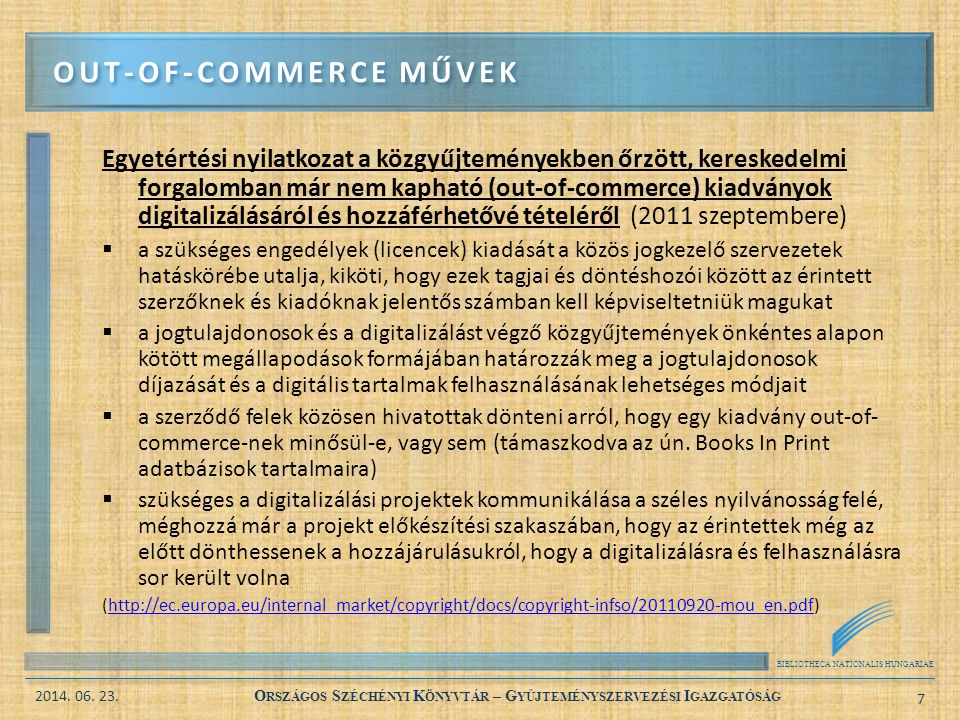 Out-of-commerce művek