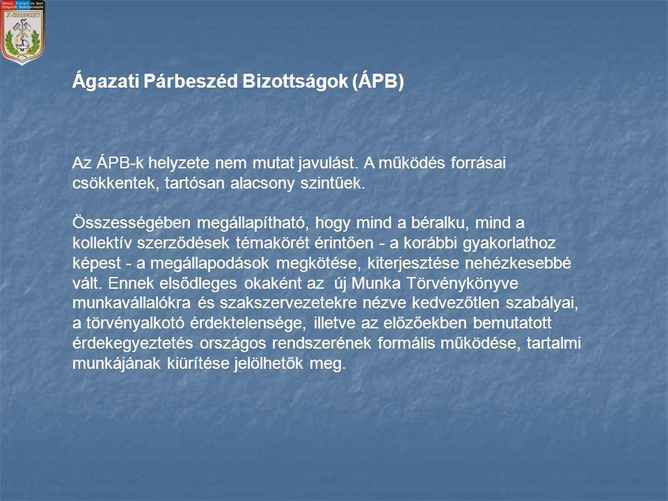 Ágazati Párbeszéd Bizottságok (ÁPB)