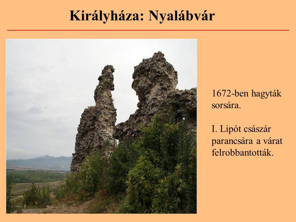 Királyháza: Nyalábvár