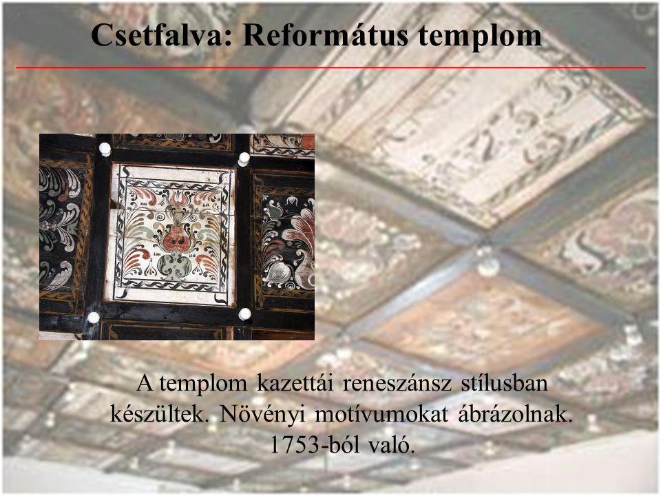 Csetfalva: Református templom