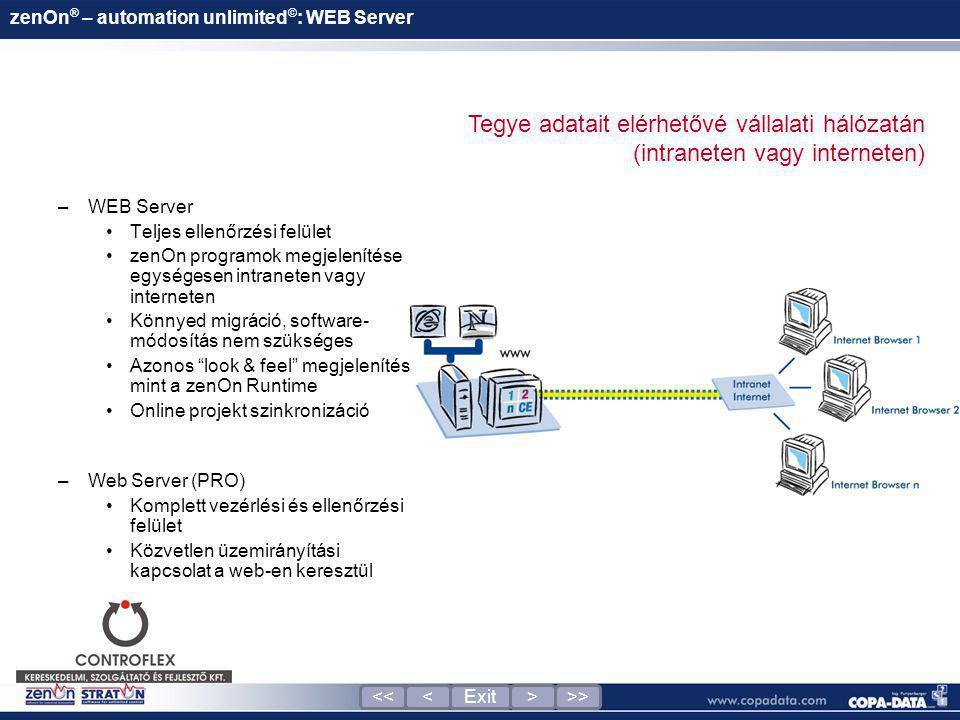 zenOn® – automation unlimited©: WEB Server