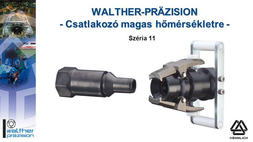 WALTHER-PRÄZISION - Csatlakozó magas hőmérsékletre -