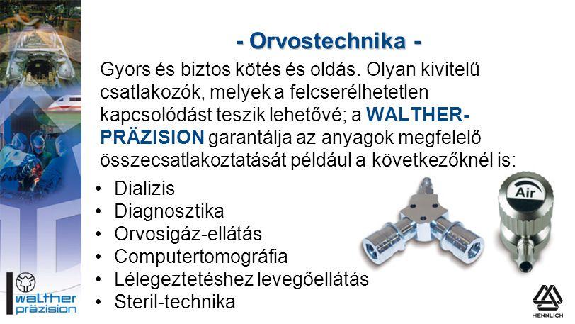 - Orvostechnika -