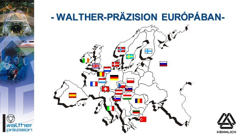 - WALTHER-PRÄZISION EURÓPÁBAN-