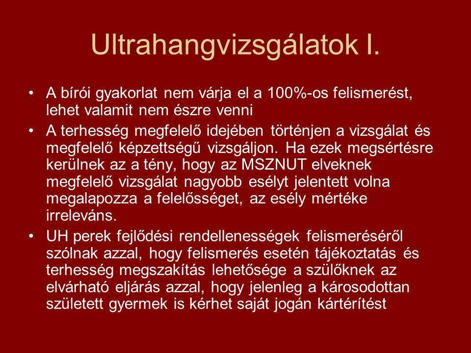 Ultrahangvizsgálatok I.